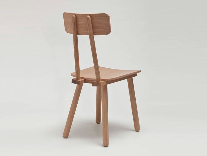 Another country another chair oak back mathias hahn