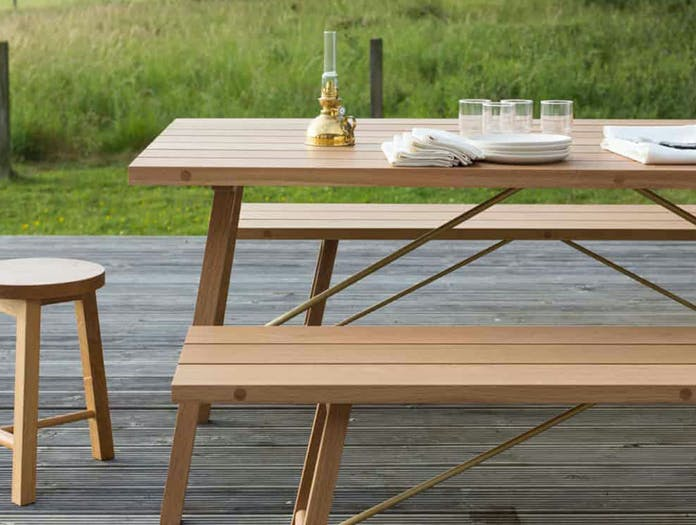 Another country outdoor table bench 2