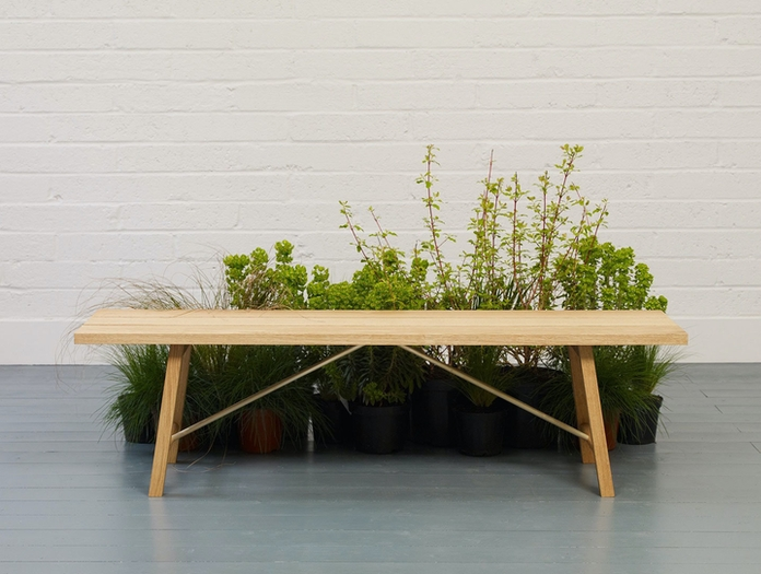 Another Country Ourdoor Bench Two Insitu