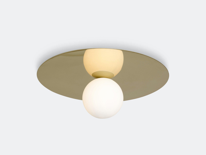 Atelier Areti Plate And Sphere Ceiling Light Gwendolyn Guillane Kerschbaumer