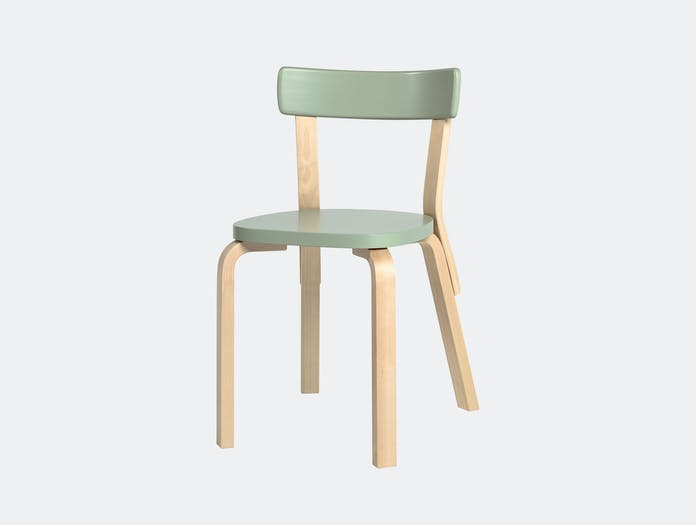 Artek Chair 69 Palmio Green Alvar Aalto