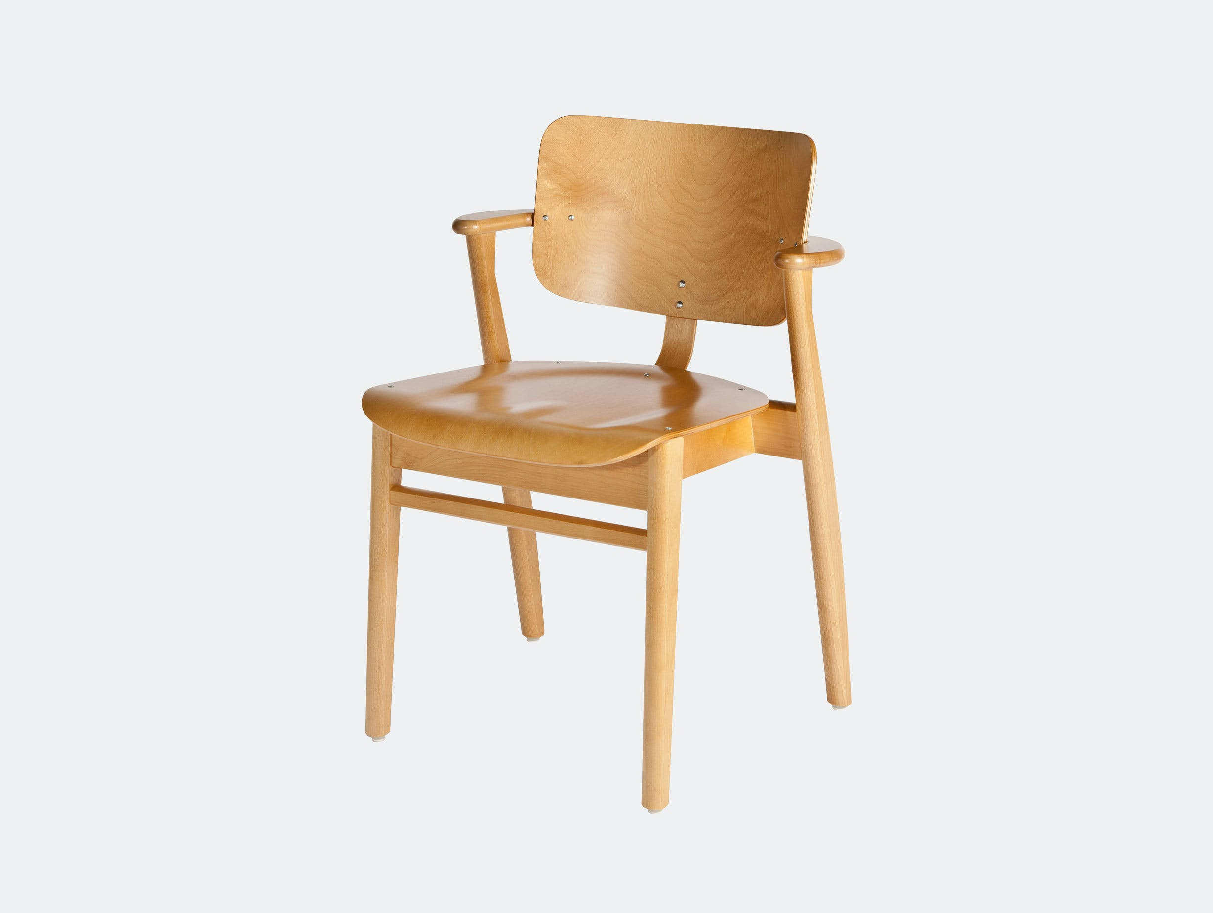 Artek Domus Chair Honey Ilmari Tapiovaara