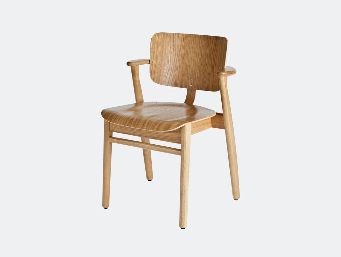 Artek Domus Chair Oak Ilmari Tapiovaara
