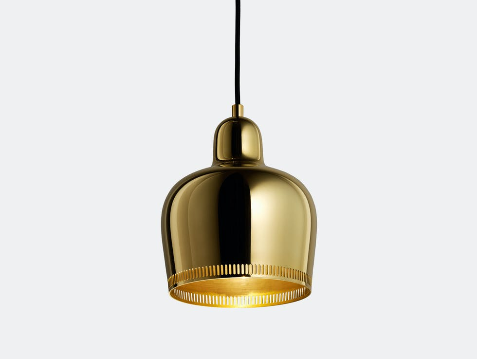 Golden Bell Pendant Light A330S image