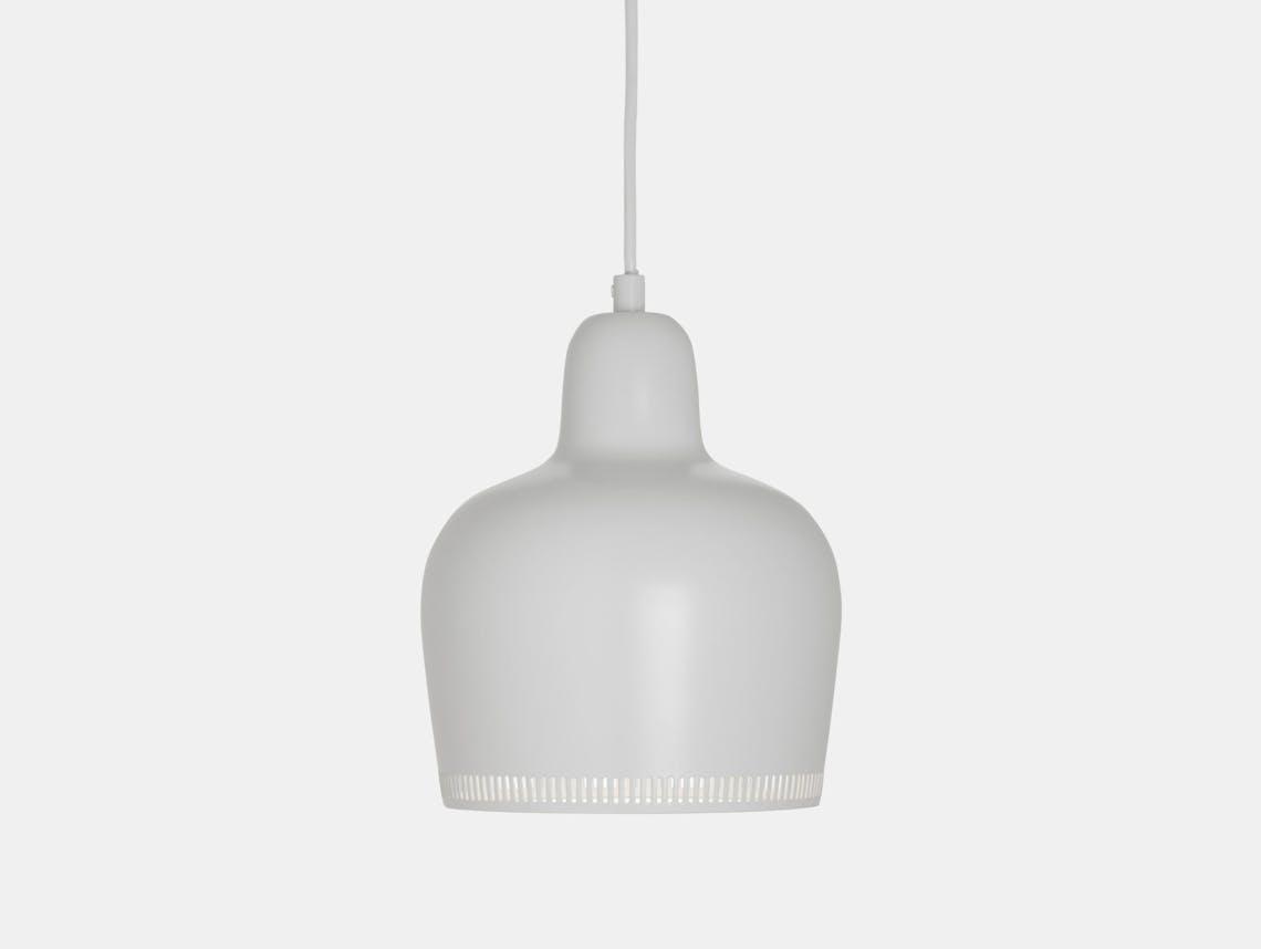 Artek Golden Bell Pendant Light A330 S White Alvar Aalto