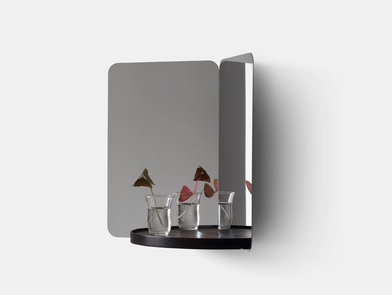Artek 124 Degree Mirror Medium With Tray Daniel Rybakken