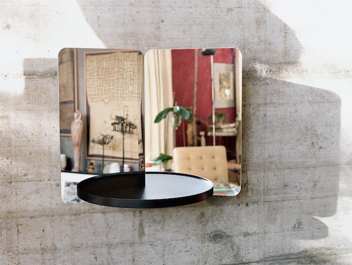 Artek 124 Degree Mirror Small With Tray 2 Daniel Rybakken