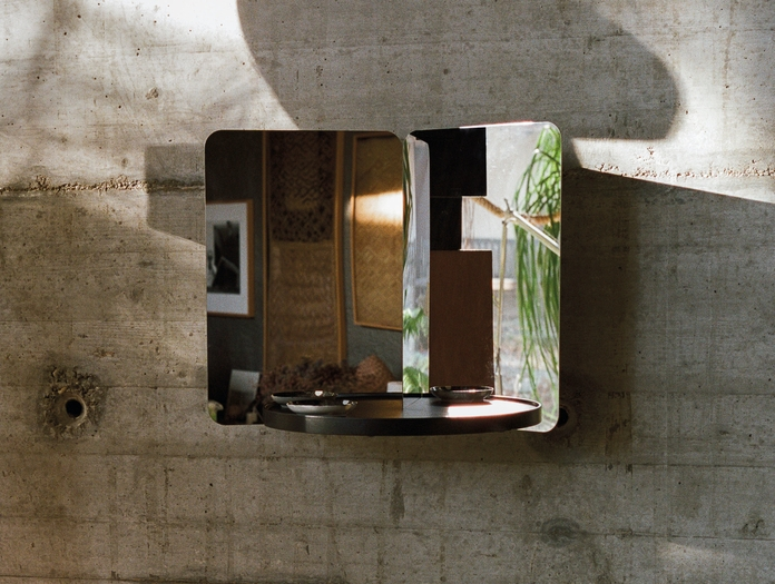 Artek 124 Degree Mirror Small With Tray 3 Daniel Rybakken