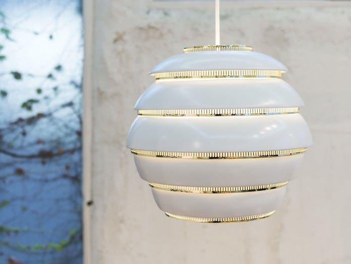 Artek A331 Beehive Pendant Light Alvar Aalto