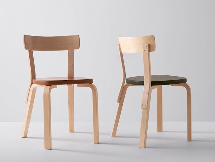 Artek Chair 69 Palmio Alvar Aalto