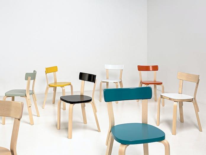 Artek Chair 69 Palmio Group 1 Alvar Aalto