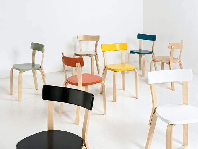 Artek Chair 69 Palmio Group 2 Alvar Aalto