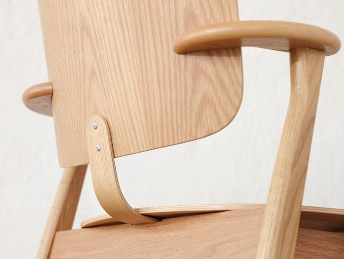 Artek Domus Chair Back Detail Ilmari Tapiovaara