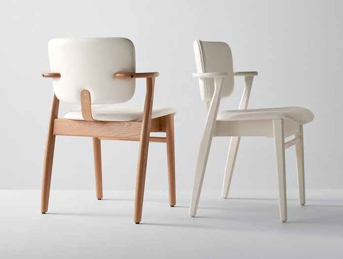 Artek Domus Chair Upholstered Ilmari Tapiovaara