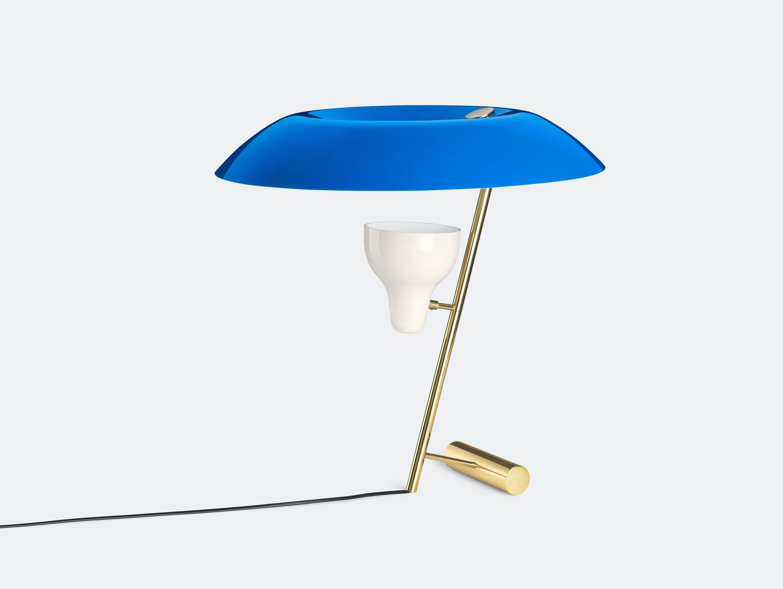 Astep Model 548 Table Light Azure Gino Sarfatti