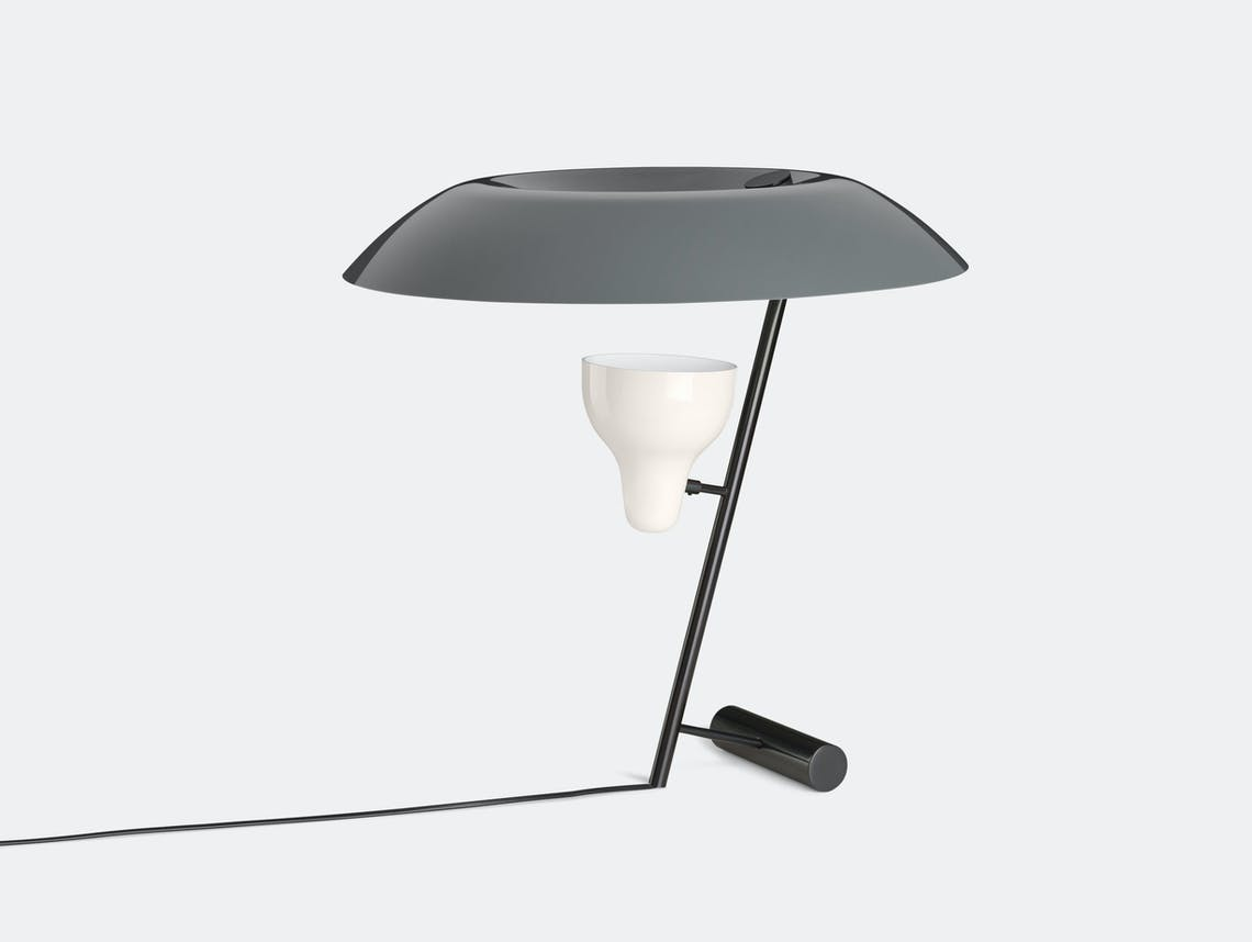 Astep Model 548 Table Light Grey Gino Sarfatti
