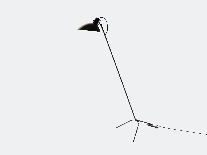 Astep Vv Cinquanta Floor Light Black Vittoriano Vigano