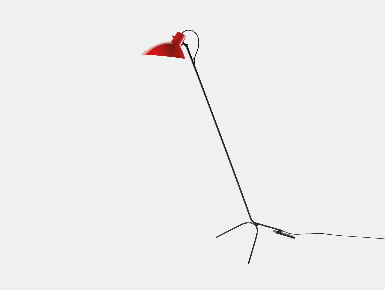 Astep Vv Cinquanta Floor Light Red Vittoriano Vigano