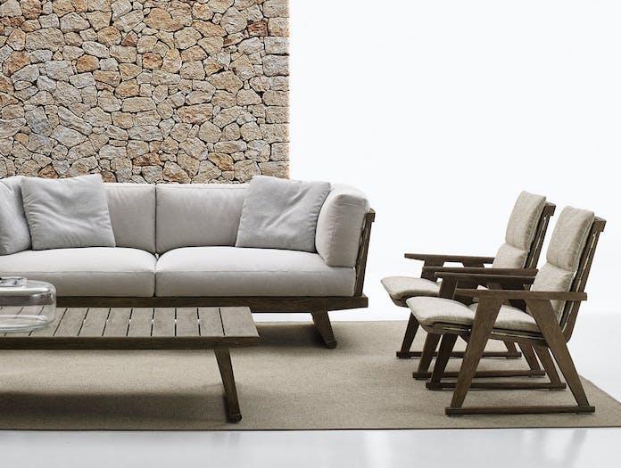 Bb Italia Gio Outdoor Chair Sofa Antonio Citterio