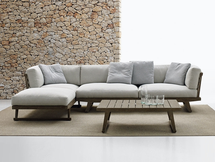 Bb Italia Gio Outdoor Sofa Chaise Antonio Citterio