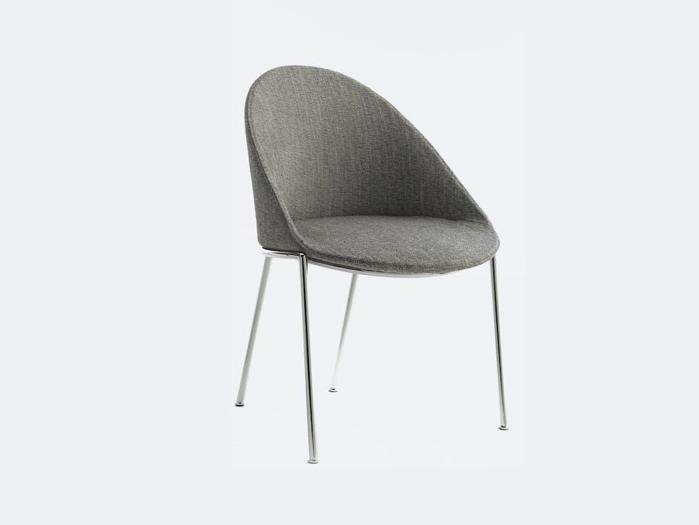 Circa Dining Chair, Metal Base image