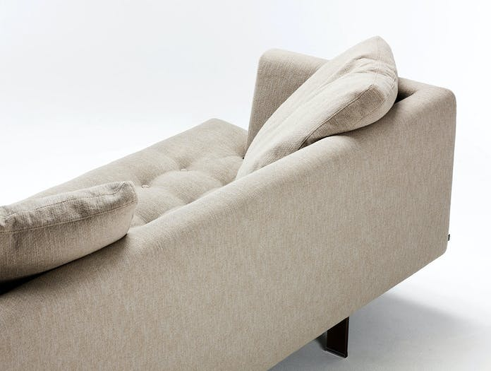 Bensen edward sofa back detail