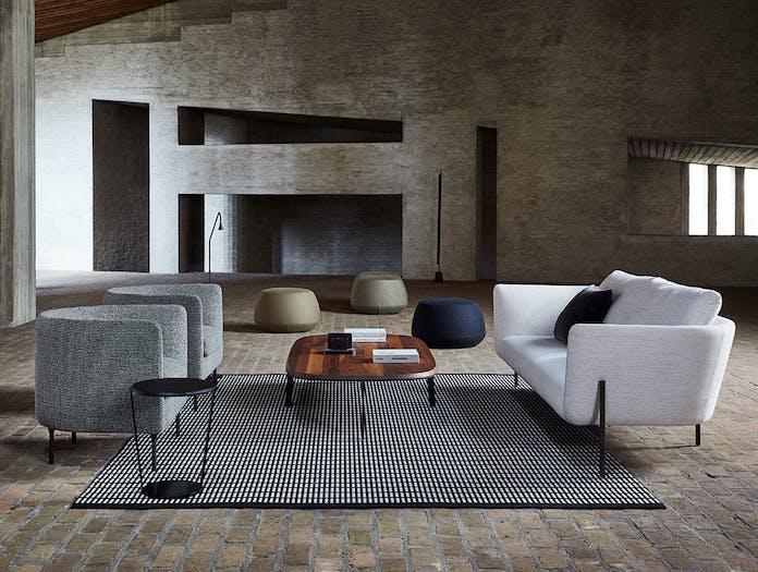 Bensen loft sofa delta club chairs