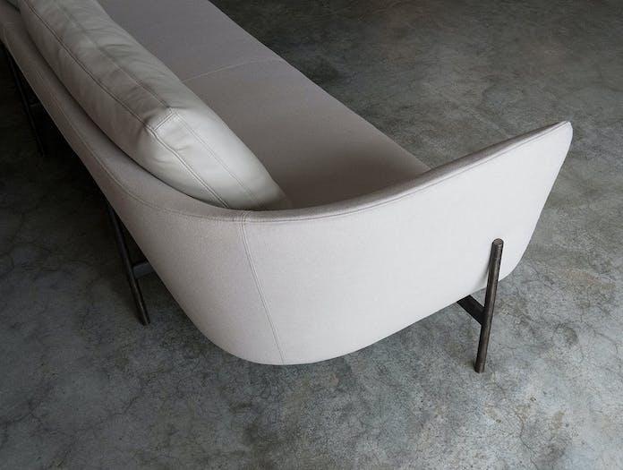 Bensen loft sofa detail