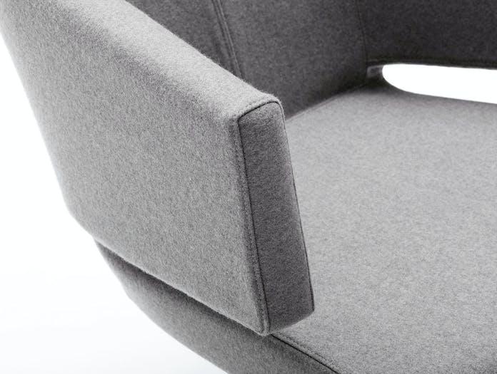 Bensen lotus lounge chair detail 2