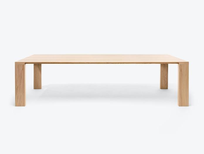 Bensen radii table oak side