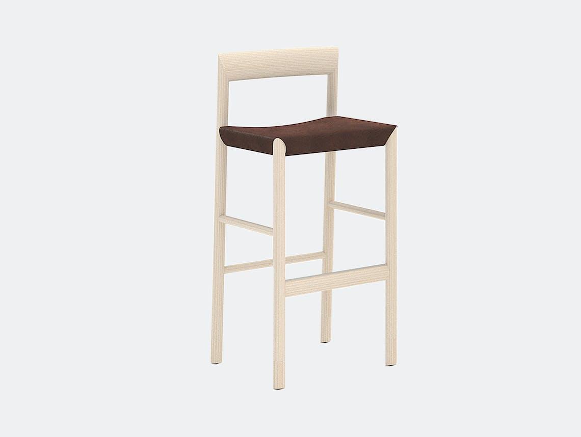 Bensen stax stool ash toscano brown