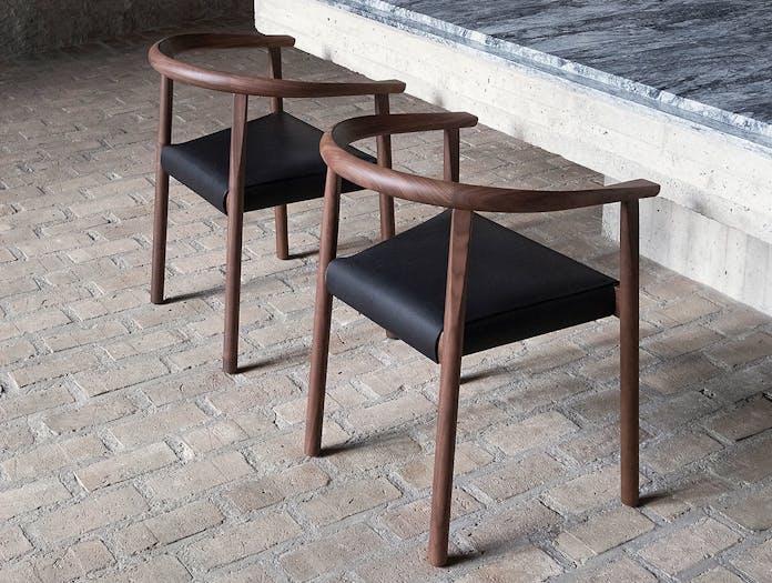 Bensen tokyo chairs walnut