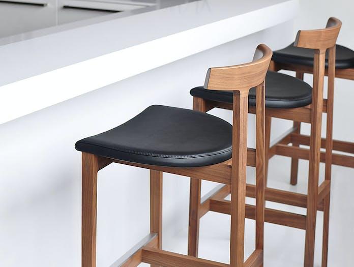 Bensen torii stool detail