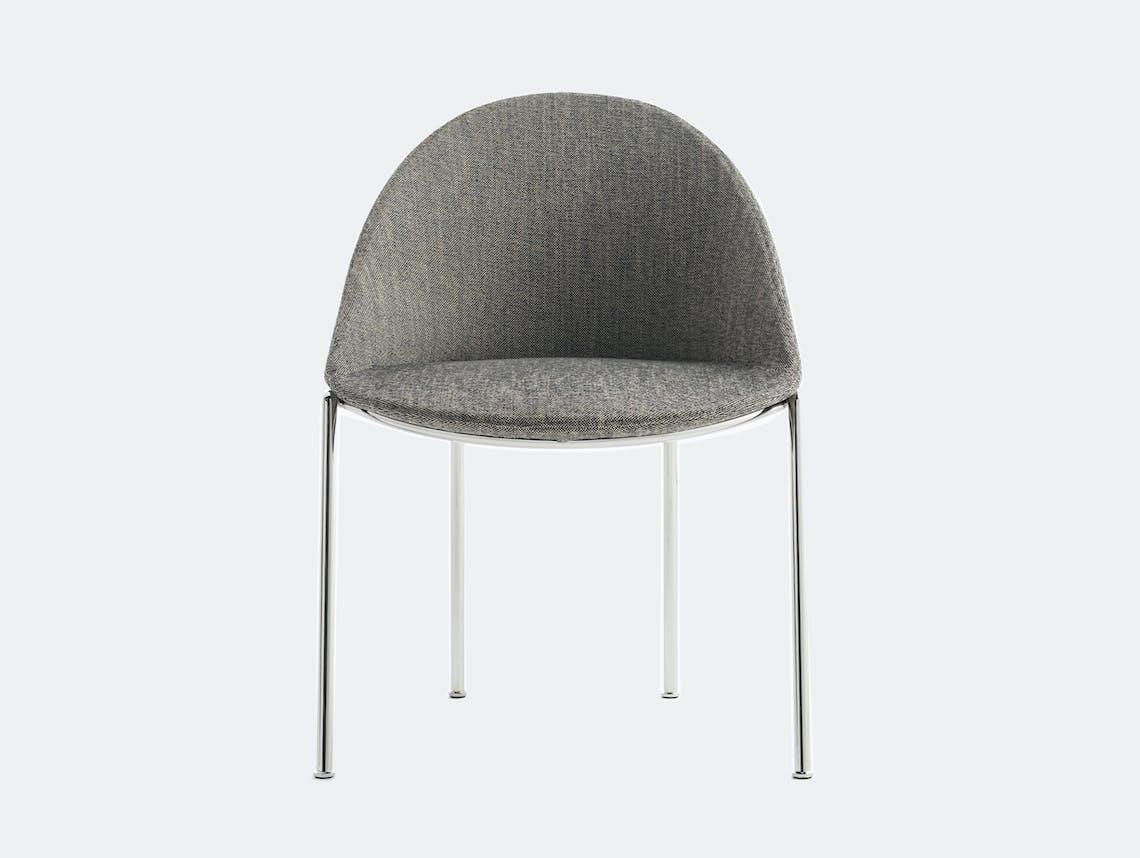 Bensen circa dining chair chrome 2