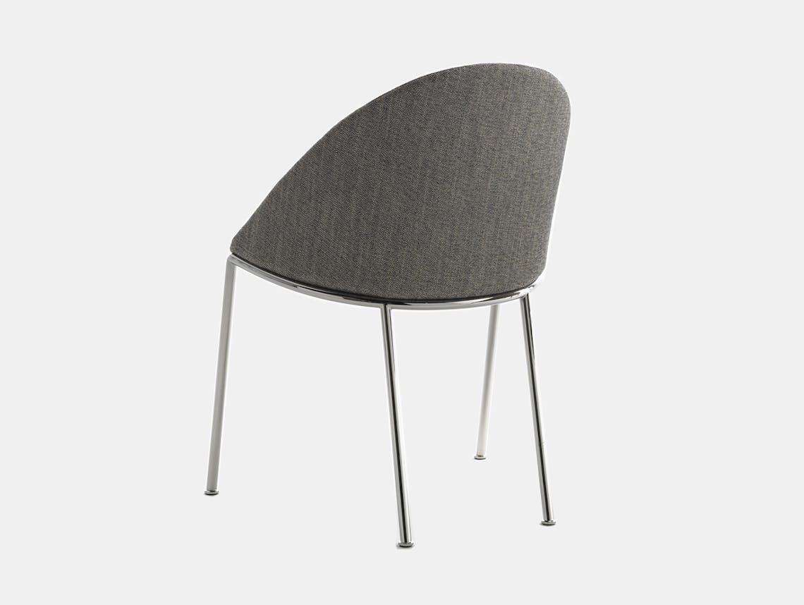 Bensen circa dining chair chrome 3