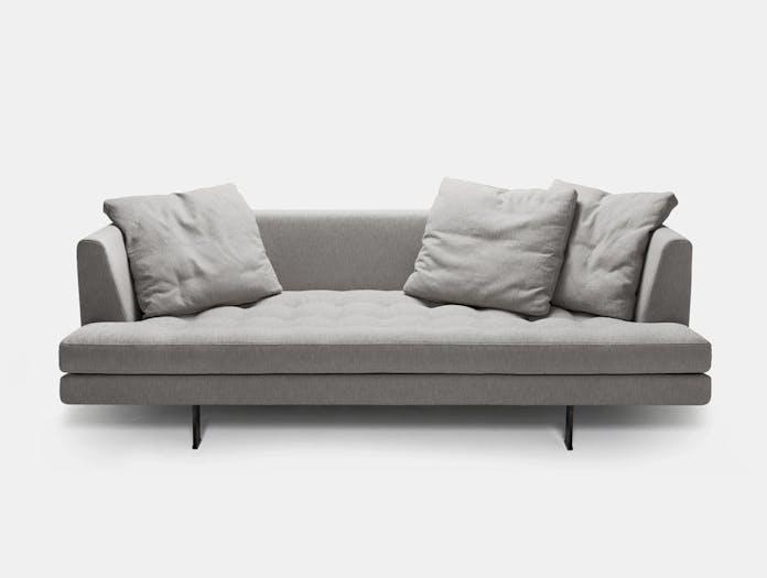 Bensen edward sofa grey 210 s