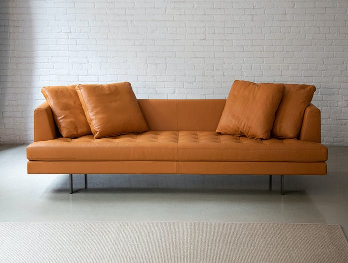 Bensen edward sofa leather 245