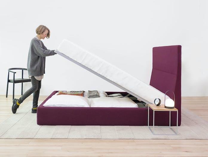 Bensen everest bed storage 2