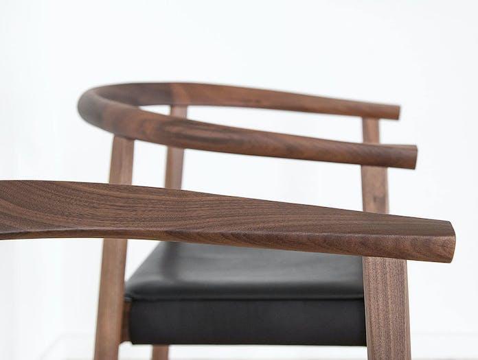 Bensen tokyo chair close up