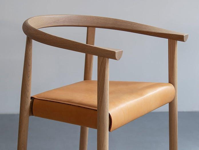 Bensen tokyo chair detail oak