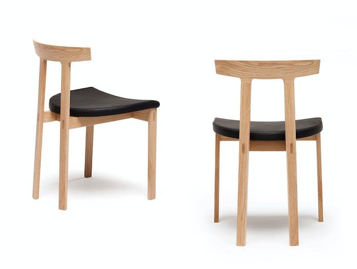 Bensen torii chairs oak