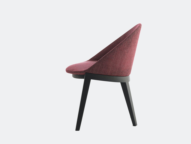 Bensen circa dining chair black oak 3