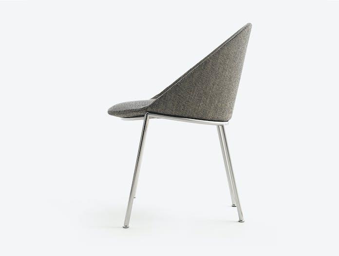 Bensen circa dining chair metal base story 2