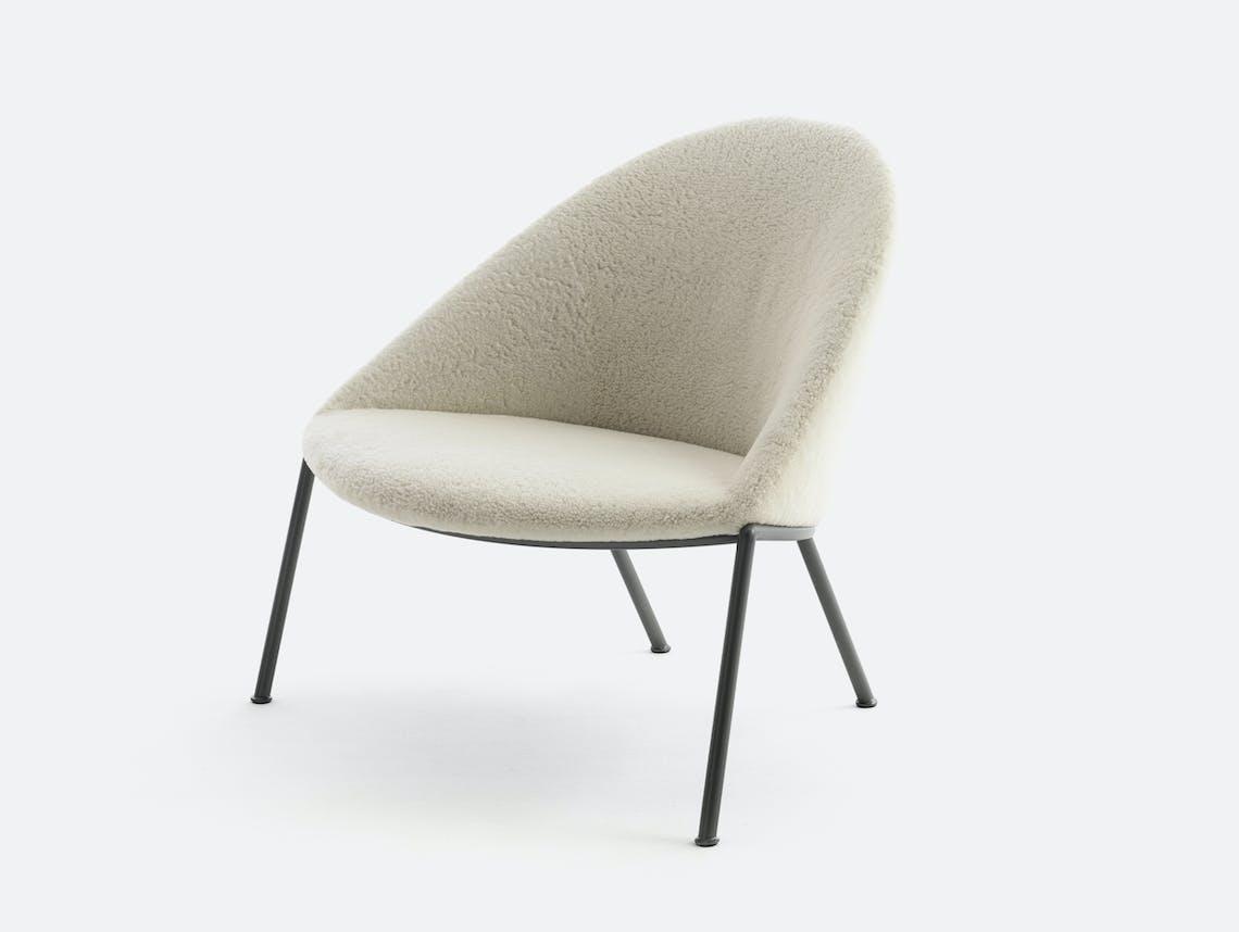 Bensen circa lounge chair graphite base