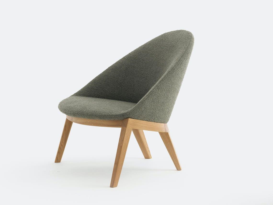 Bensen circa lounge chair oak base