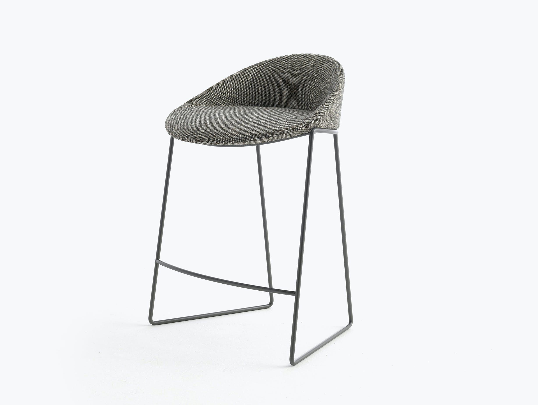 Bensen circa stool graphite base