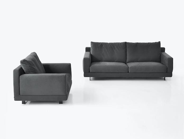 Bensen Elle Sofa In Black Comfort 3