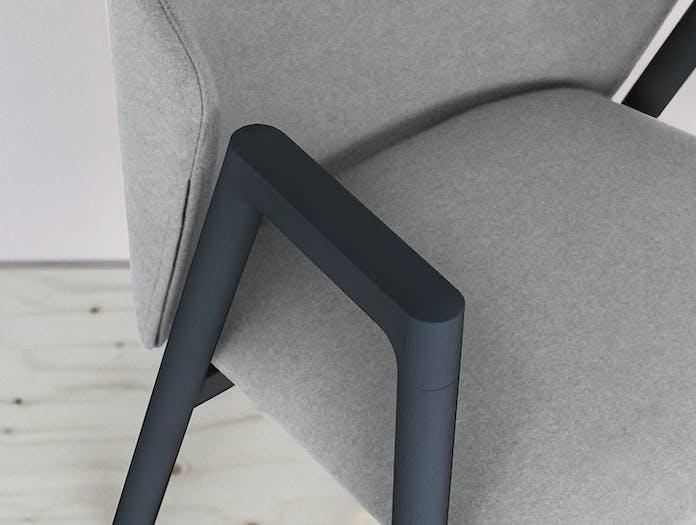 Bensen Pub Chair Arm Detail