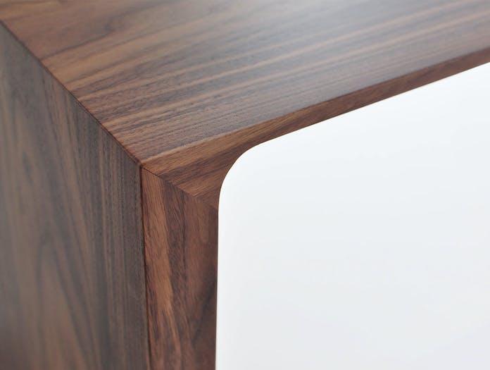Bensen Radius Bench Detail