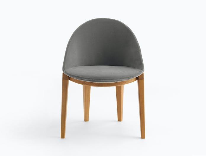 Bensen circa dining chair wood base story 3